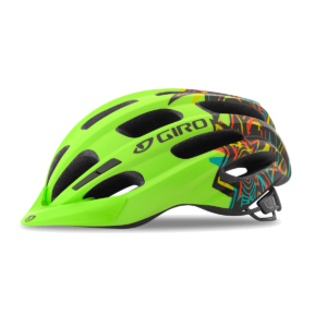 Giro Hale Youth/Junior Bike Helmet - Matte Lime