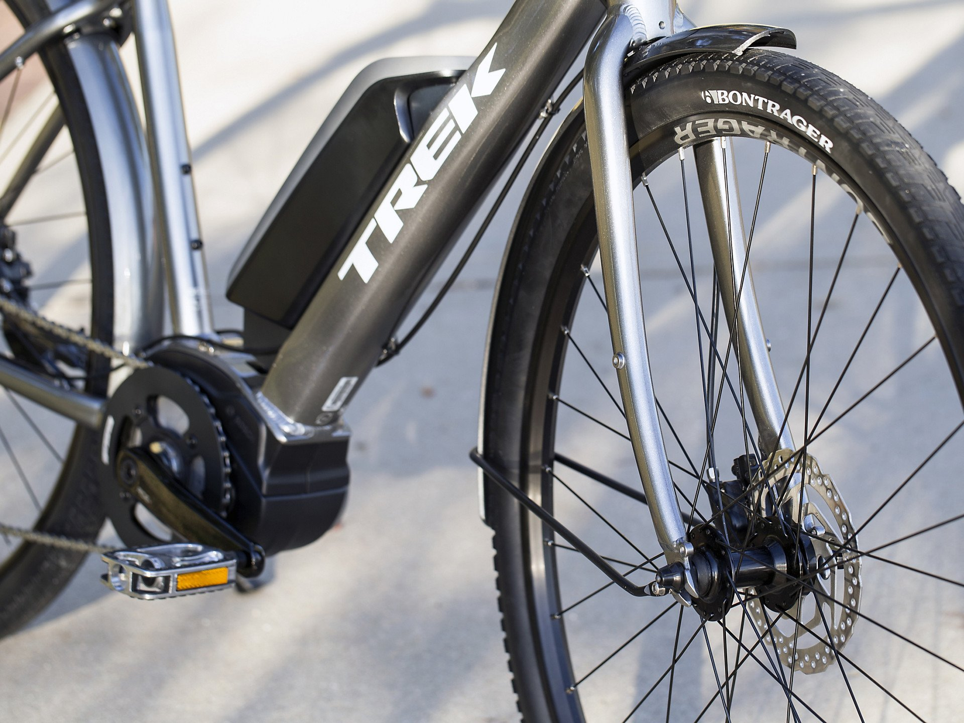 Trek Verve Lowstep Electric Bike 2019 Roe Valley Cycles