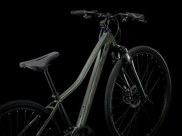 Trek Dual Sport 1 Women's Hybrid Bike - 2021 - Roe Valley Cycles