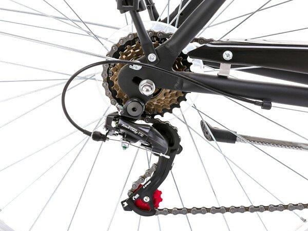 """Romet Grom 6S Gents 20"""" Hybrid Bike - Roe Valley Cycles"""