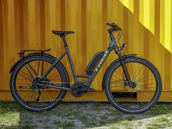 Trek Allant+ 5 Lowstep Electric Hybrid Bike - 2021 - Roe Valley Cycles