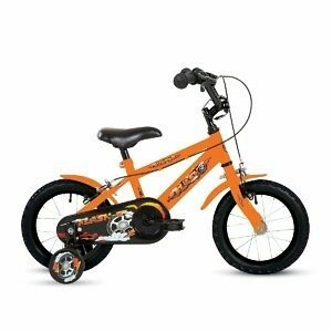 "Bumper Flash 14"" Kids Pavement Bike - Roe Valley Cycles"