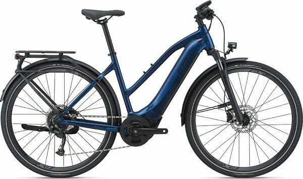 Giant Explore E+ 2 Stagger Frame Electric Bike - 2021 - Roe Valley Cycles