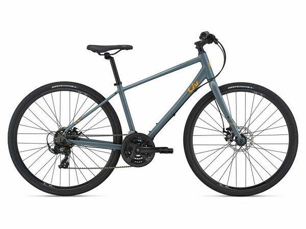 Liv Alight 3 Disc Women's Hybrid Bike - 2021 - Roe Valley Cycles