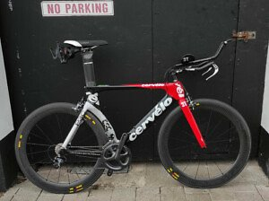 Cervelo P3C 56cm Time Trial Bike - Roe Valley Cycles