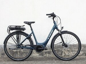 Trek District+ 1 Lowstep Electric Bike - 2022